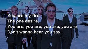 洋楽で大学受験・英文法 Backstreet Boys の I Want It That Wayで知覚動詞