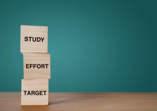 受験勉強の目標の決め方